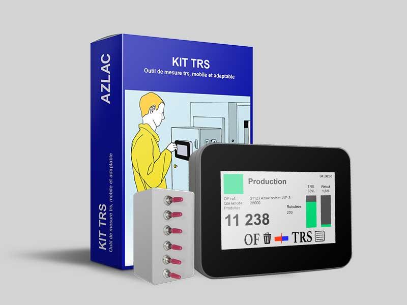 Kit TRS suivi de production industriel azlac opérationnel le premier jour