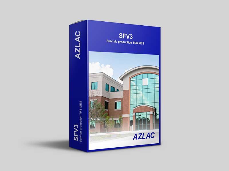 Logiciel SFV3 Azlac Suivi de production TRS MES