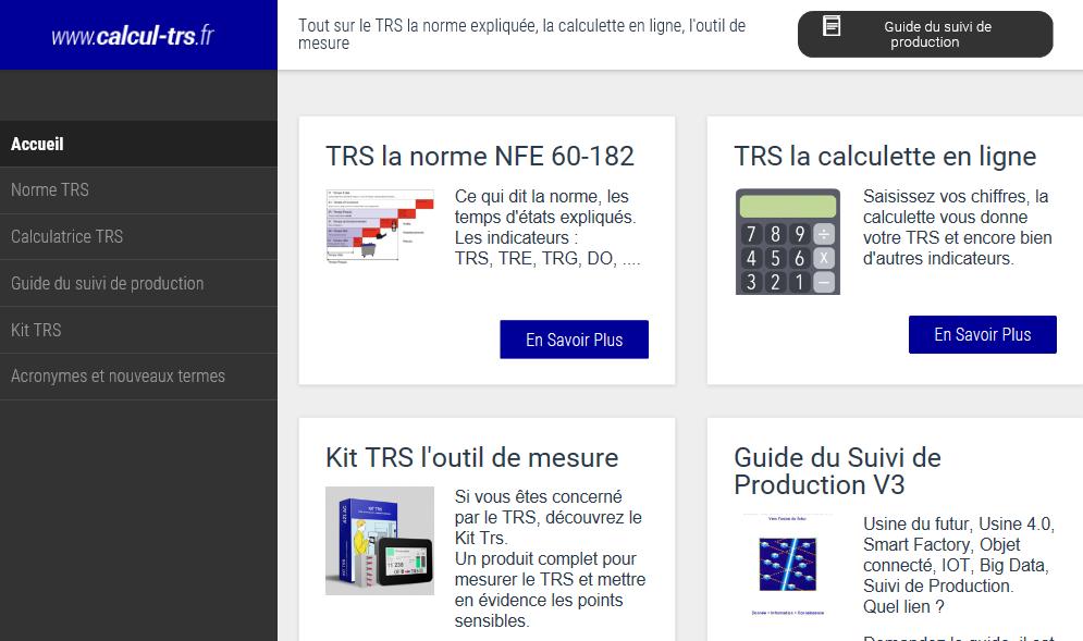 Calculer votre TRS sur www.calcul-trs.fr